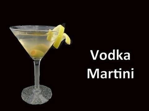 Video Perfect Vodka Martini Cocktail Recipe