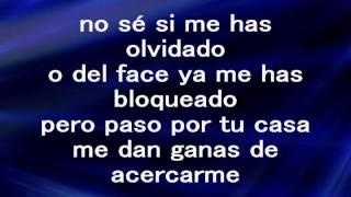 Malditas Ganas -Letra- El Komander