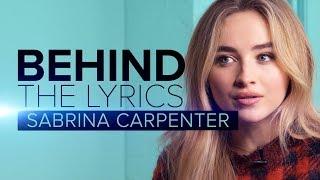 "Sabrina Carpenter ""Sue Me"" | BEHIND THE LYRICS"