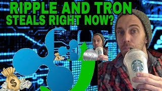 RIPPLE UNDER $1 AND TRON .04 CENTS STEALS? TRON 8X AND RIPPLE 5X OPPORTUNITY? CRYTPO NEWS BUY NOW!?