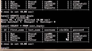 MySQL Tutorial for Beginners - 4 - Updating Data in a Database