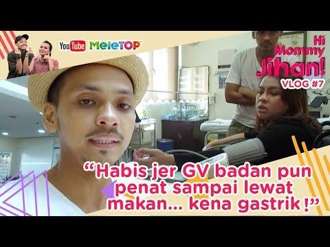 Hi Mommy Jihan Vlog #7 | Habis jer GV badan pun penat sampai lewat makan... kena gastrik