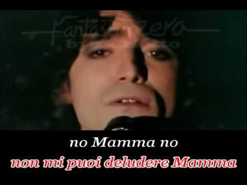 Renato Zero - No mamma No (karaoke - fair use)