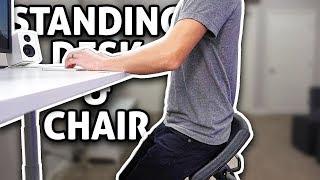 IQ Standing Desk + LeanRite Chair - REVIEW