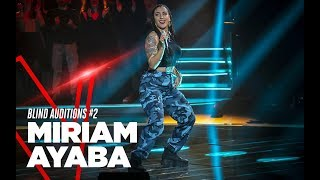 "Miriam Ayaba ""Amazzonia""   Blind Auditions #2   TVOI 2019"