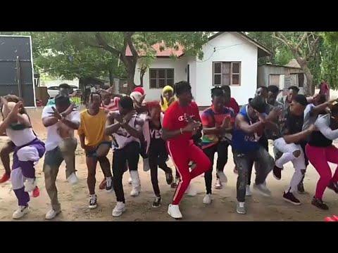Diamond Platnumz - Kanyaga (Best dance) with WCB WASAFI and #Diamond & #Mose