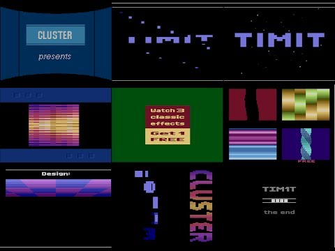 Atari 2600 Scenedemo - TIM1T by Cluster and DMA (Revision 2014)