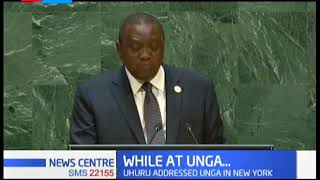 President Uhuru while at UNGA rallied support for UNSC seat