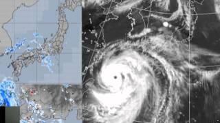台風8号の記録2014