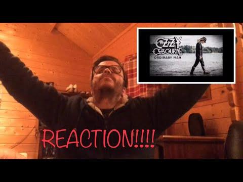 OZZY OSBOURNE FEAT ELTON JOHN - ORDINARY MAN REACTION