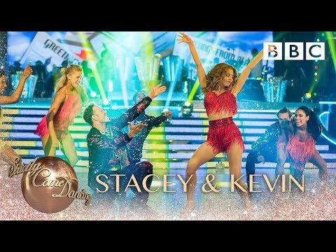 Stacey Dooley and Kevin Clifton Salsa to 'Ooh Aah (Just A Little Bit)' by Gina G – BBC Strictly 2018