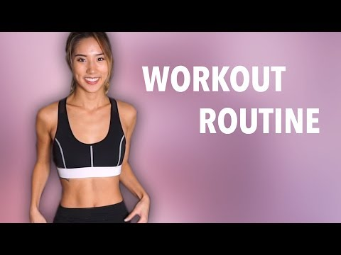 MY WORKOUT ROUTINE! | YB Chang