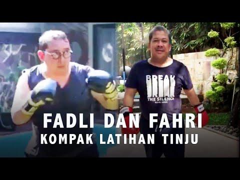 Fadli dan Fahri Kompak Latihan Tinju