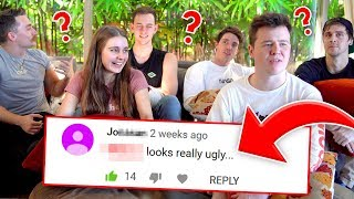 WHOSE THAT COMMENT ABOUT? CLICK EDITION