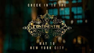John Wick: Chapter 3 - Parabellum (2019) - The Continental Experience - Keanu Reeves, Halle Berry