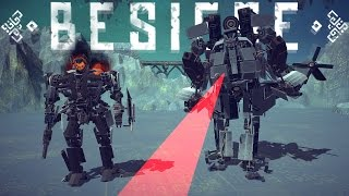 Besiege Best Creations - Transformers, Trains and a Ballistic Missile System! - Besiege Highlights