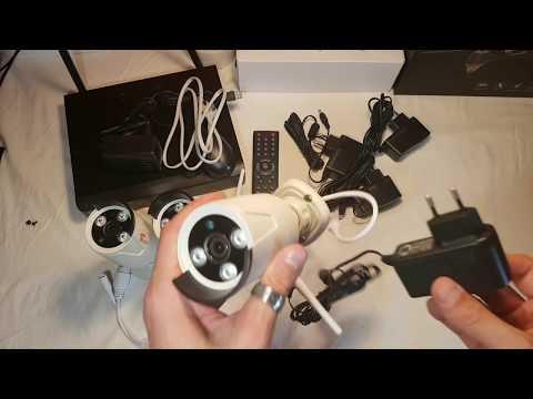 Kit di Videosorveglianza solo 179-Euro WiFi o cavo da esterno motion detect notifica allarme,CORSEE