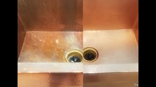 Como limpiar  cobre  / How to clean copper / Bar keepers friends