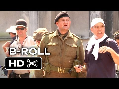 The Monuments Men Complete B-Roll