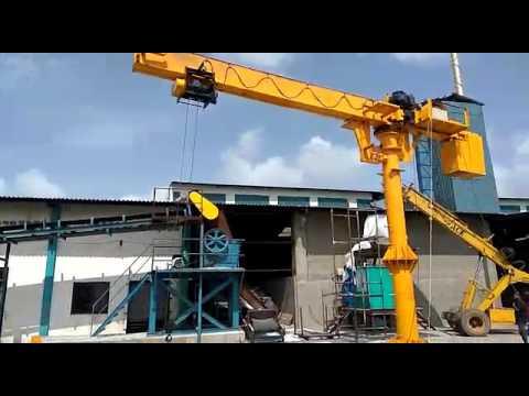 Wall Supported Jib Crane 1 ton