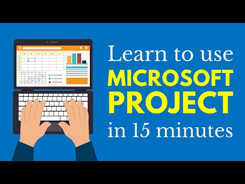 Learn Microsoft Project in 15 Minutes