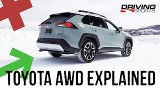 Toyota AWD Explained and Tested: 2019 RAV4, Highlander, Prius AWD