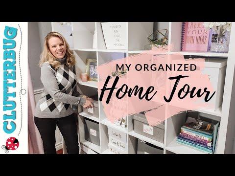 My Organized Home Tour