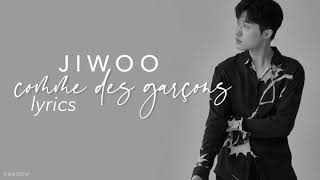 JIWOO (지우)  - 'Comme des Garçons' Lyrics