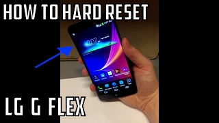 LG G Flex - Hard Reset Factory Reset How To