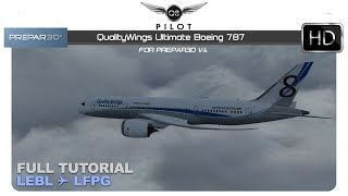 QualityWings Boeing 787 Prepar3D V4: First Impressions