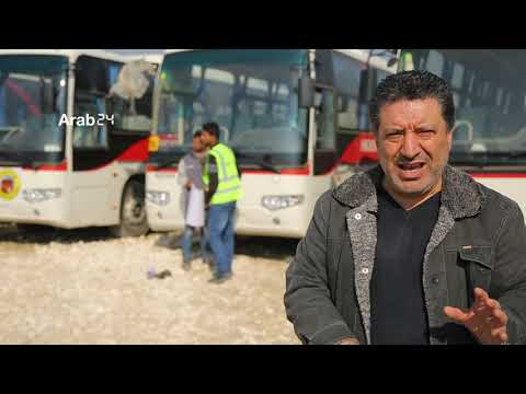 Syria|Assigning 10 Buses To Provide The Public Transportation Service Inside Raqqa