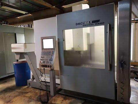 CNC Milling Machine DMG DECKEL MAHO DMC 1035V 2008
