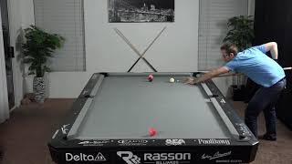 Billiards Drill #9: Back and Forth!!