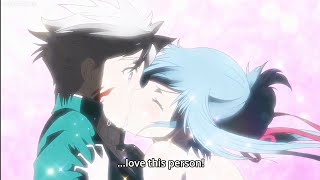 | Hina and Licht kissed| Heartbreaking Moments •Plunderer Episode 17•