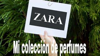 Mi colección de perfumes Zara