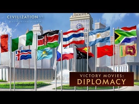 Civilization VI: Gathering Storm - Diplomacy Win (Victory Movies) thumbnail