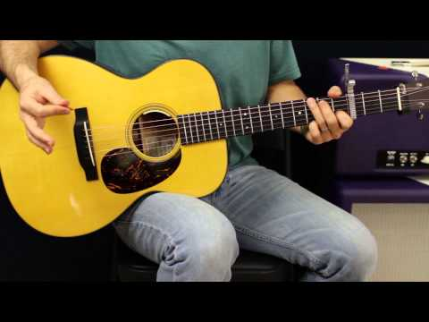 Simple Acoustic Guitar Song Lesson - Coldplay - Fix You - Acoustic Chords