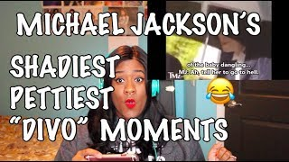 MICHAEL JACKSONS PETTIEST/SHADIEST/DIVO MOMENTS REACTION | GABRIELLAWELLA