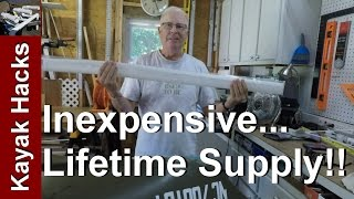 Source of Cheap HDPE Rods for Plastic Kayak Repair and Kayak Welding