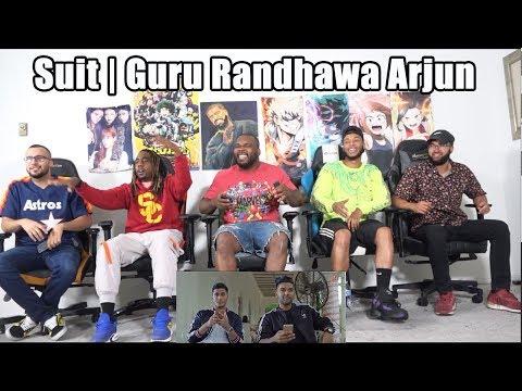 Suit | Guru Randhawa Feat. Arjun | T-Series REACTION / REVIEW