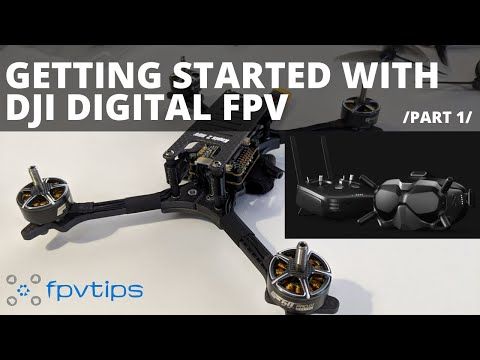 Getting started with DJI Digital FPV and Holybro Kopis 2 HDV quick look /part 1/