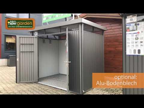 biohort Metall Gerätehaus Highline auf newgarden.de
