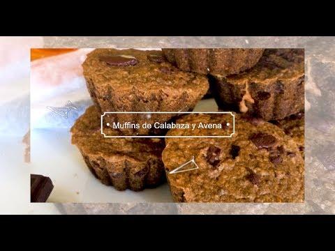 Mini Muffins de Calabaza y Avena | Sin Glúten, Veganos y sin Azúcar Refinada!