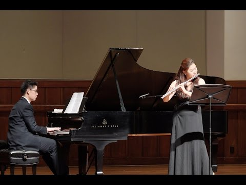 Copland Duo for Flute and Piano by Chang Lu