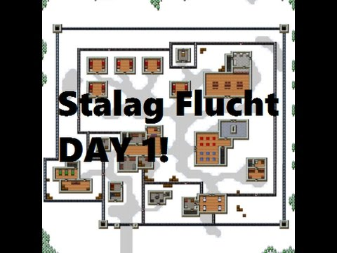 The Escapists - Stalag Flucht - Day 1 Escape!