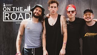 The Band Camino On Excitement of Lolla 2019 Debut, Influences & More | On The Road