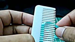 DIY Cara Membuat Kelopak Bunga Menggunakan Sisir Rambut