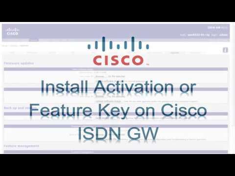 Cisco ISDN Link