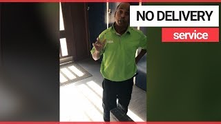 Asda delivery man refuses to help pregnant mother carry shopping | SWNS TV