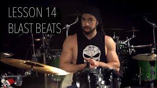 Double Bass Drum Lesson 14   Building Up The Blast Beats